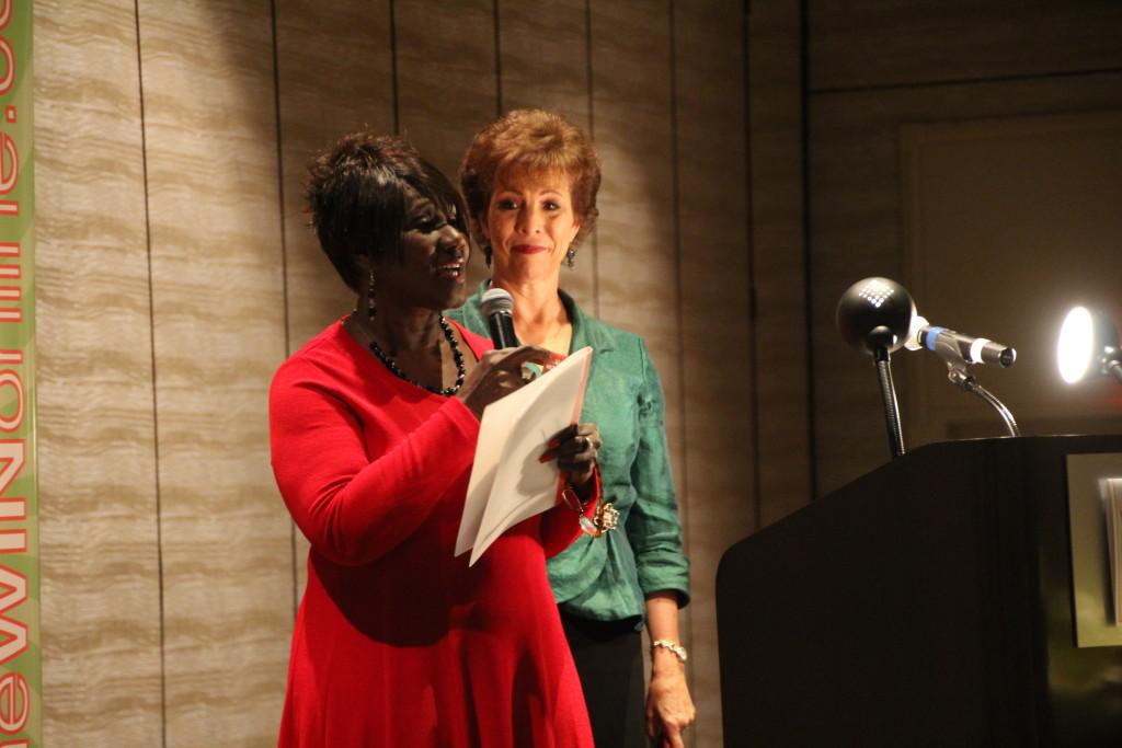 Dr. Paula Fellingham at Global Women's Summit 2013