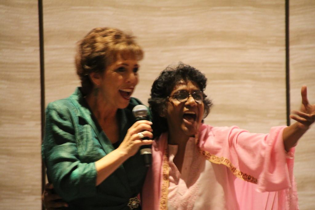 Dr. Paula Fellingham at Global Women's Summit 2013-2