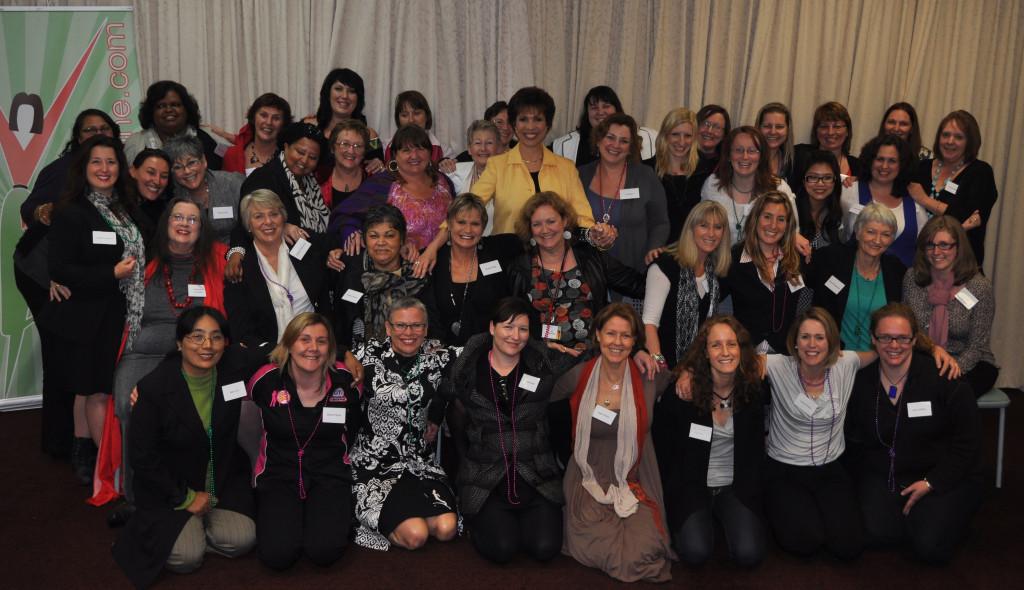 Dr. Paula Fellingham at Global Women's Summit in Australia