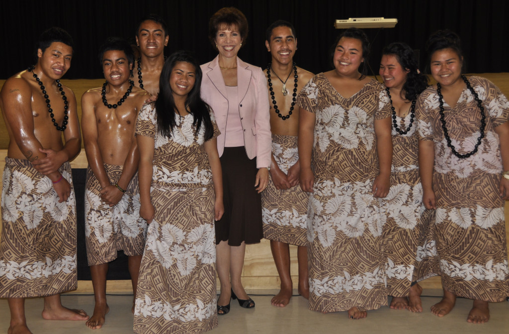 Dr. Paula Fellingham in Hawaii