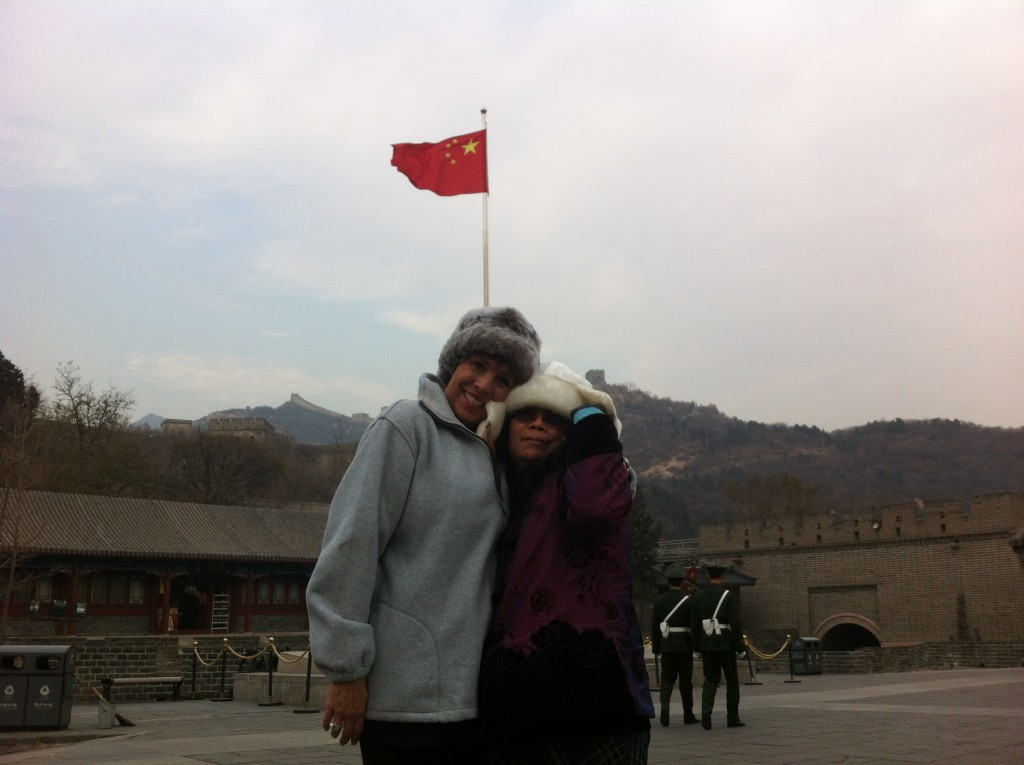 Dr. Paula Fellingham on the Great Wall of China - 2