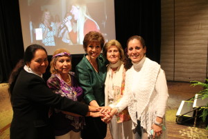 Dr. Paula Fellingham with Global Women's Summit Attendees (2)