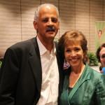 Dr. Paula Fellingham with Stedman Graham - 1
