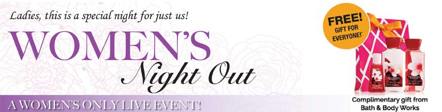 Paula Fellingham Speaks at Ladies Night out