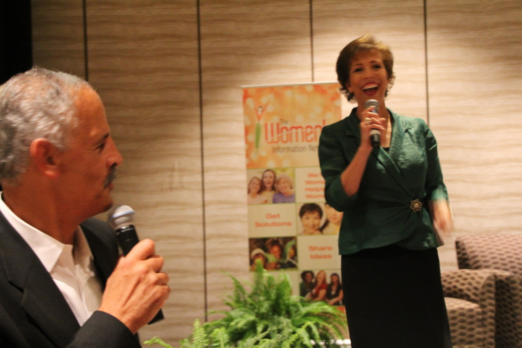 Dr. Paula Fellingham speaking at Global Women's Summit 2013