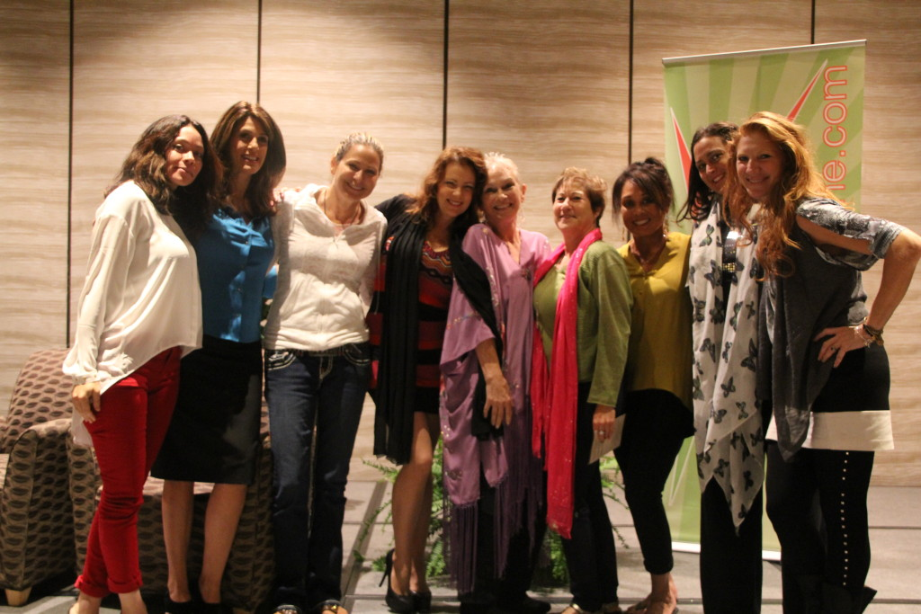 Dr. Paula Fellingham with Global Women's Summit Attendees