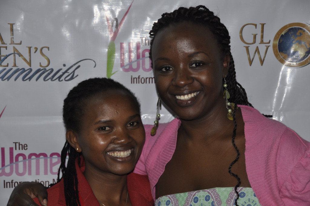 Young African women at Global Women's Summit in Africa