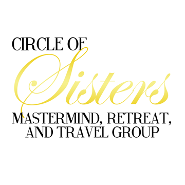 Circle of Sisters Text Image - gold 360px